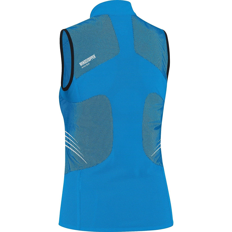 GORE RUNNING WEAR Magnitude 2.0 WindStopper Active Shell Lady - Chaleco de running para mujer, color azul, talla 42: Amazon.es: Deportes y aire libre