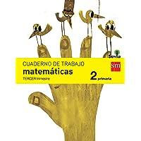 Cuaderno de matemáticas. 2 Primaria, 3 Trimestre. Savia - 9788467578454