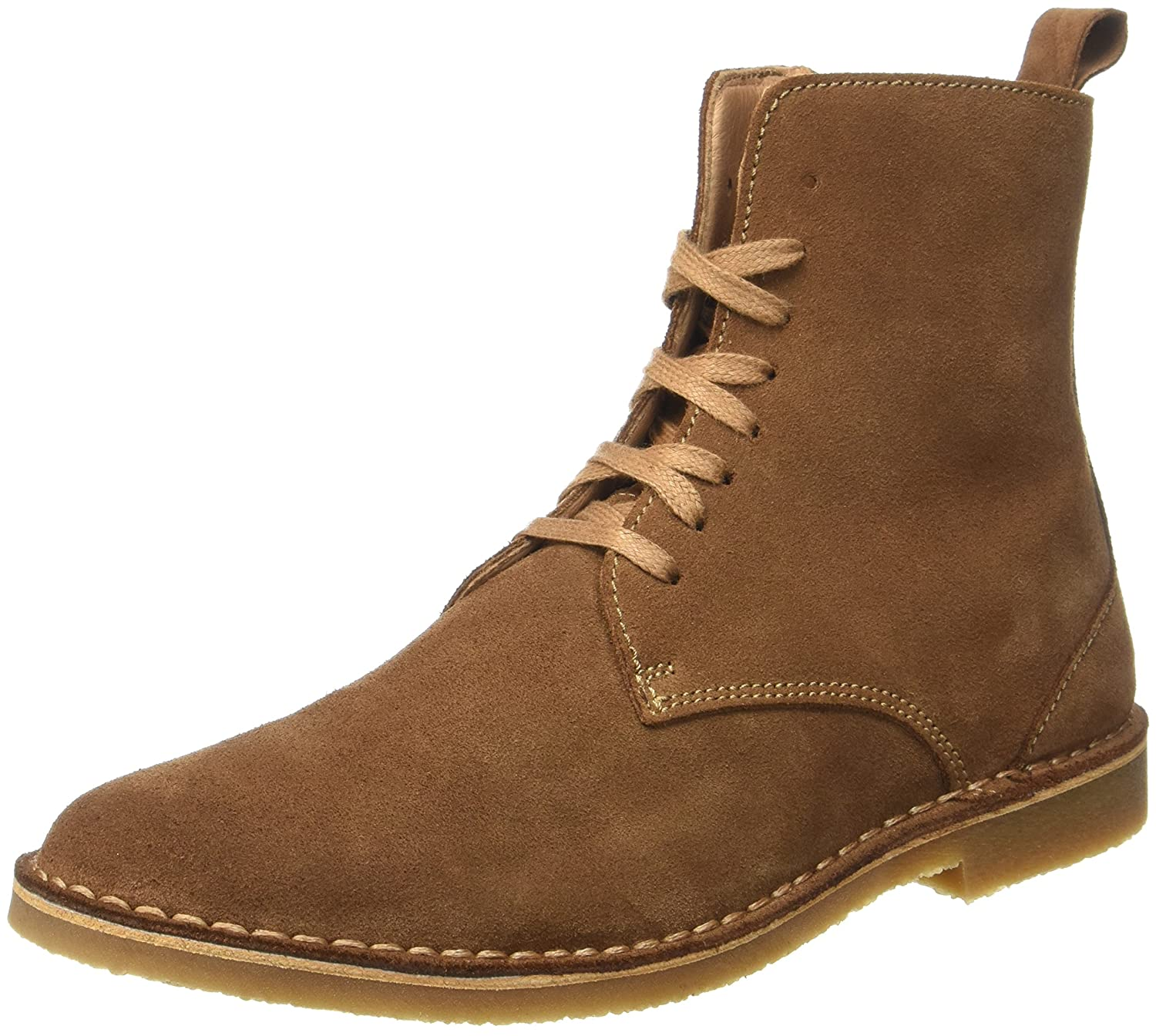 TALLA 45 EU. Selected Shhroyce High Suede Boot - Botines Hombre