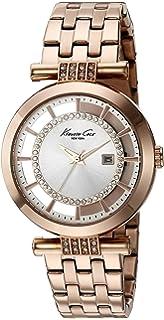 Kenneth Cole New York Womens 10021106 Transparency Digital Display Japanese Quartz Rose Gold Watch
