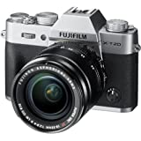 Fujifilm X-T20 with XF 18-55 lens (Silver)