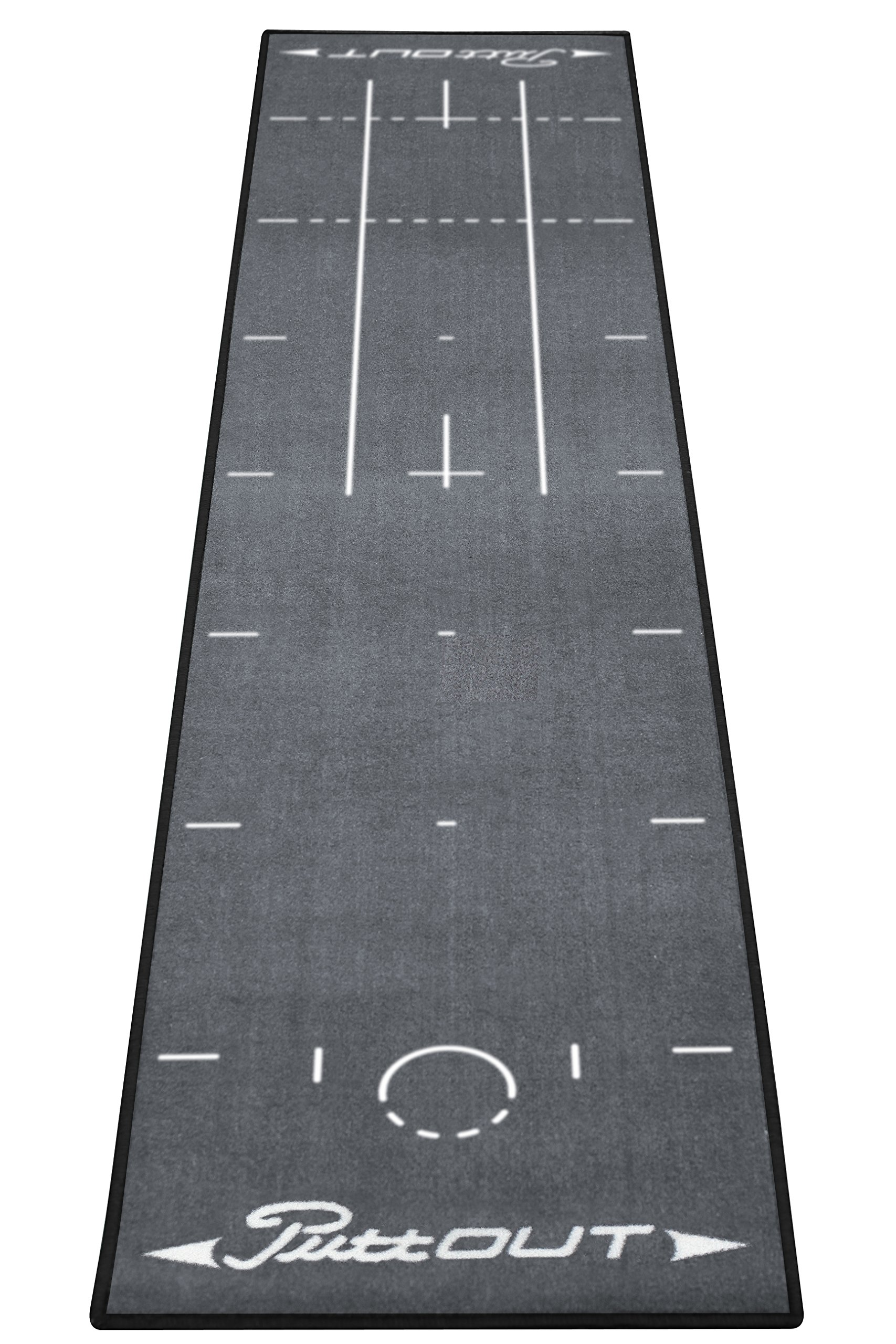 PuttOut Pro Golf Putting Mat - Perfect Your Putting (7.87-feet x 1.64-feet) by PuttOut (Image #2)