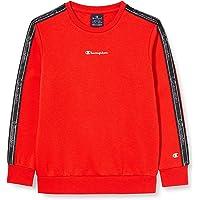 Champion Boys' Seasonal Tape Sweatshirt Sudadera para Niñas