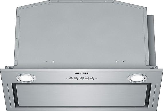 Siemens LB59584 De pared Acero inoxidable 720m³/h A - Campana (720 m³/h, Canalizado/Recirculación, 67 dB, 330 m³/h, 50 cm, 65 cm): 342.43: Amazon.es: Grandes electrodomésticos