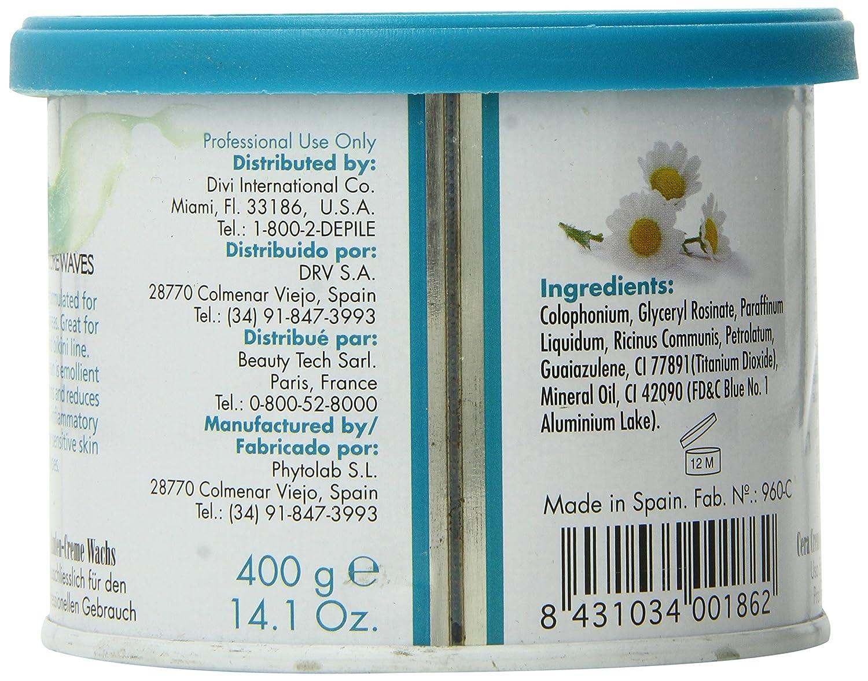depileve azulene Cream Rosin, azuleno Crema Cera, para un Waxing profesional, Depilación: Amazon.es: Salud y cuidado personal