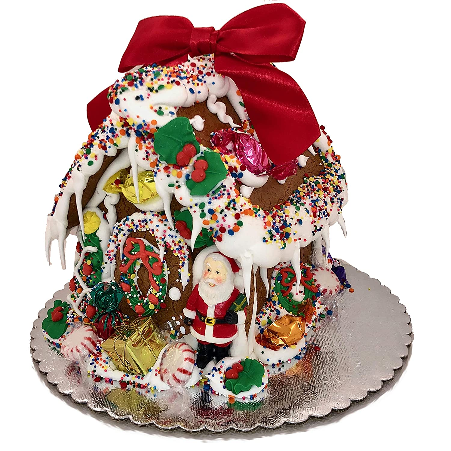 Gingerbread House, EDIBLE Fully Decorated and Shipped Christmas Gift by  BakersDozenToGo