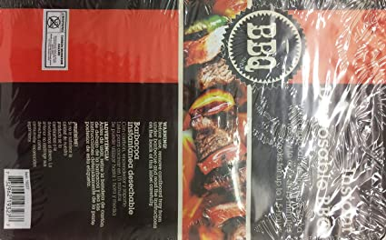 BBQ Grill Instant Disposable Charcoal Cooks For Up To 1.5 Hour. Pk Of 1.