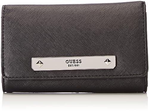 Guess - Slg Wallet, Carteras Mujer, Negro (Black), 2x10x20 cm (W x H L): Amazon.es: Zapatos y complementos
