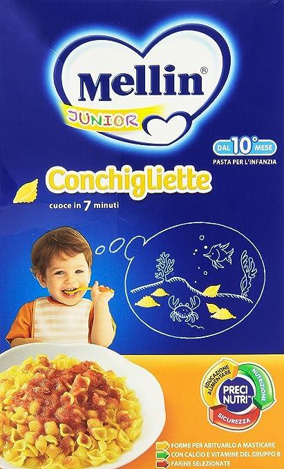 4 opinioni per Mellin- Junior, Conchigliette, 280 g