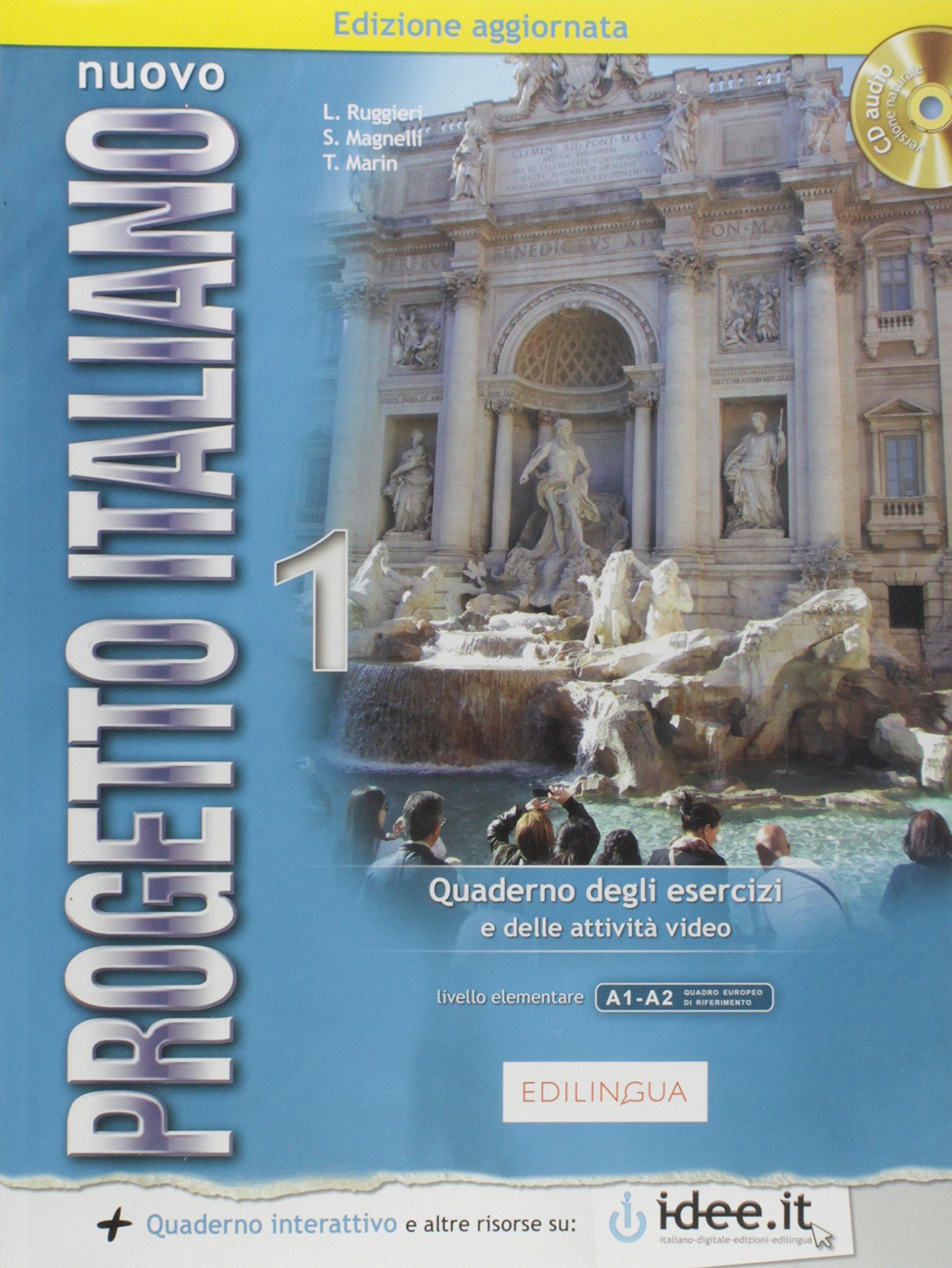 Nuovo Progetto Italiano: New Ed Quaderno Degli Esercizi 1 + CD-Audio (Level A1-A2) ebook