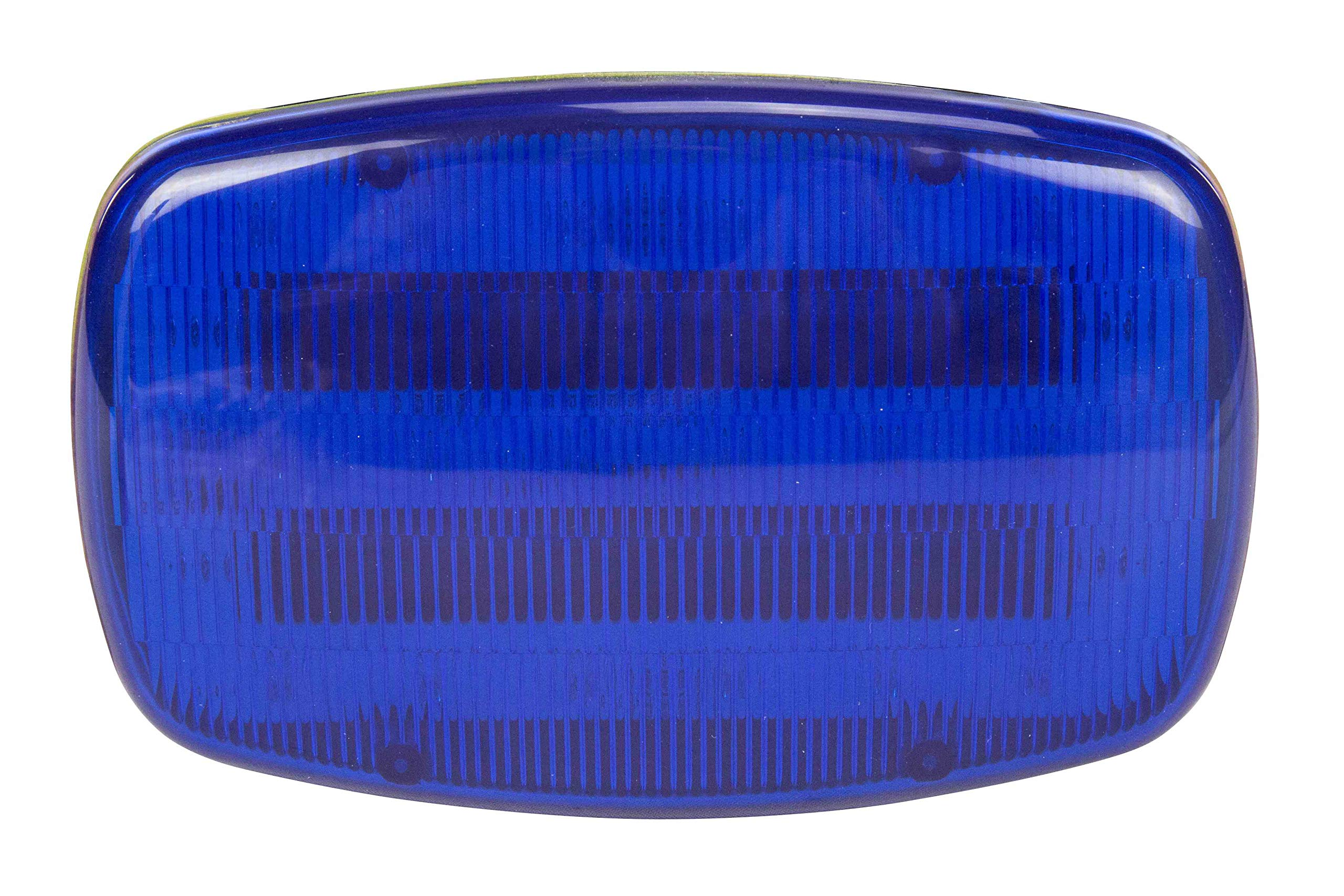 LED Blue Strobe Light - 18 LEDS - Battery Powered - Dual Magnet Base - Continuous or Strobe Output