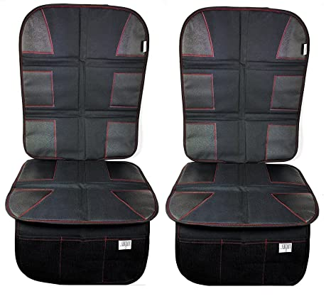 Luliey Car Seat Protector 2 Pack CarSeat Cover Pad For Child Baby