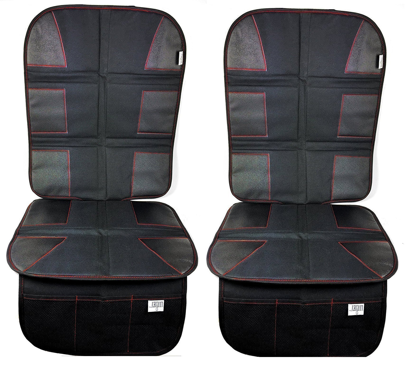 Luliey Car Seat Protector 2 Pack CarSeat Cover Pad Child Baby Seats Dog Mats