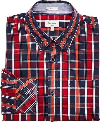 Pepe Jeans Camisa Hombre Evan: Amazon.es: Ropa y accesorios