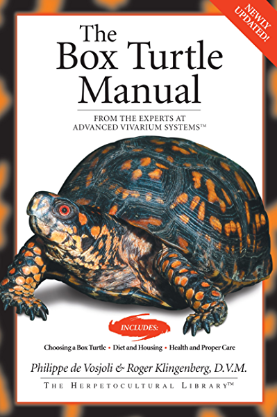 Amazon Com The Box Turtle Manual Herpetocultual Library Ebook De Vosjoli Philippe Klingenberg Roger J Kindle Store