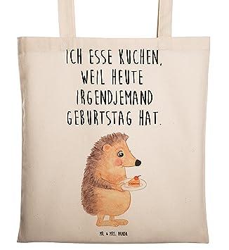 Mr. U0026 Mrs. Panda Tragetasche Igel Mit Kuchenstück   100% Handmade In  Norddeutschland   Igel, Essen Spruch, Kuchen, ...