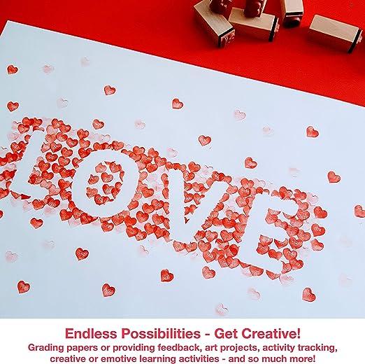 Amazon.com: Paper People timbres de emoticones: Toys & Games