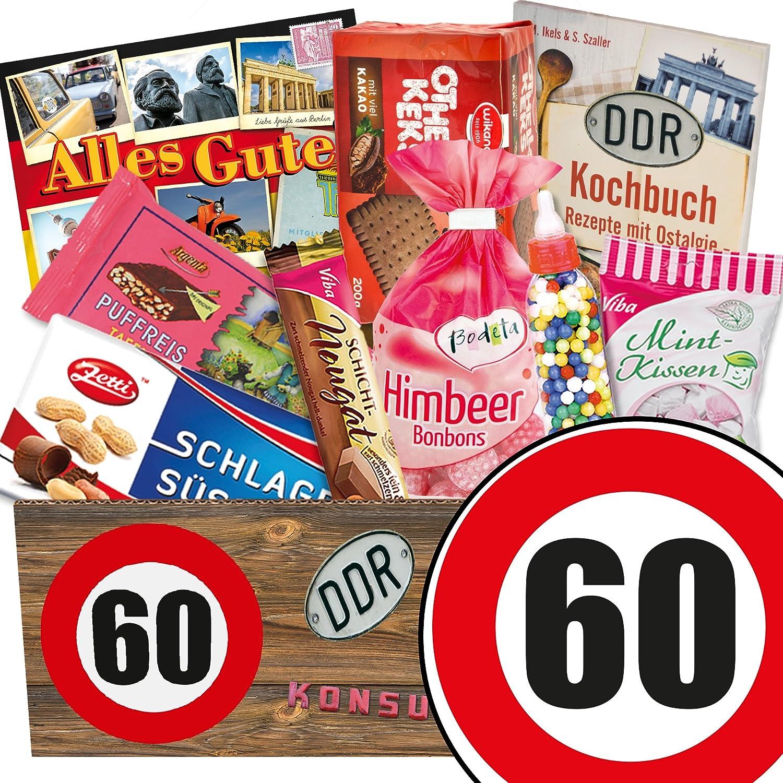 Süssigkeiten Geschenk ++ Ossi Paket ++ Zahl 60 ++ Geschenk idee Papa ...