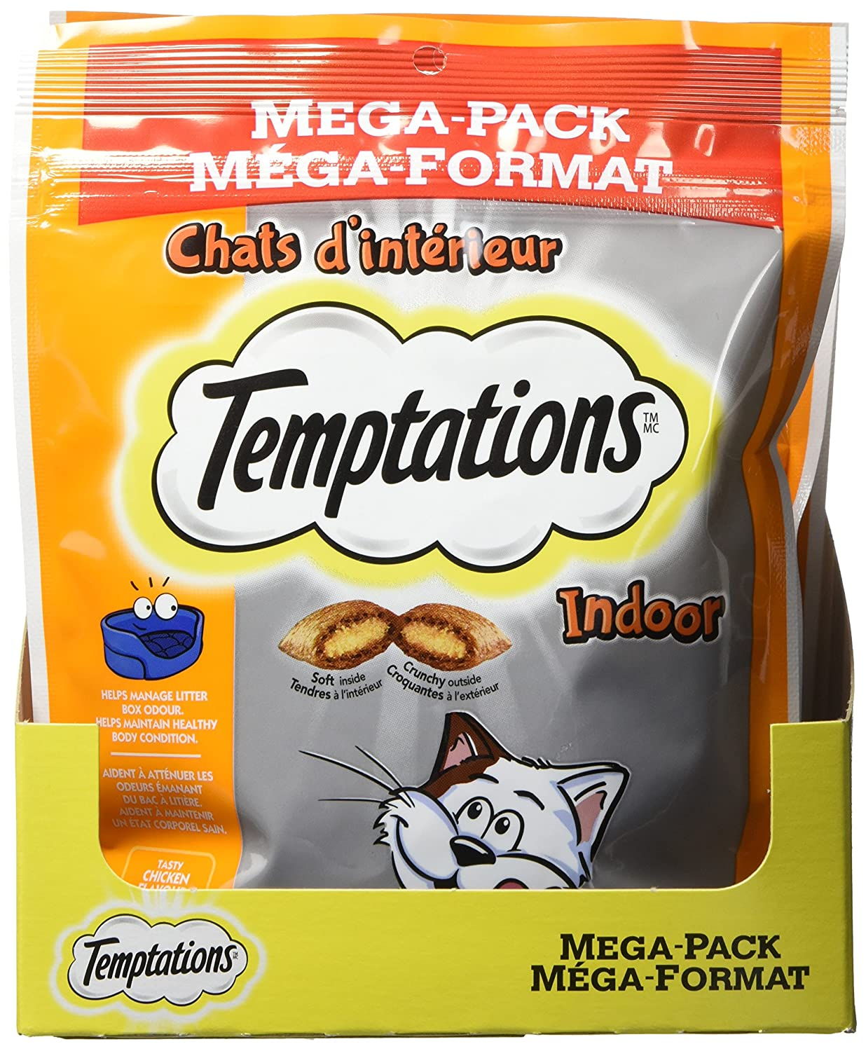 Temptations Treats for Cats 0 58496 42955 3