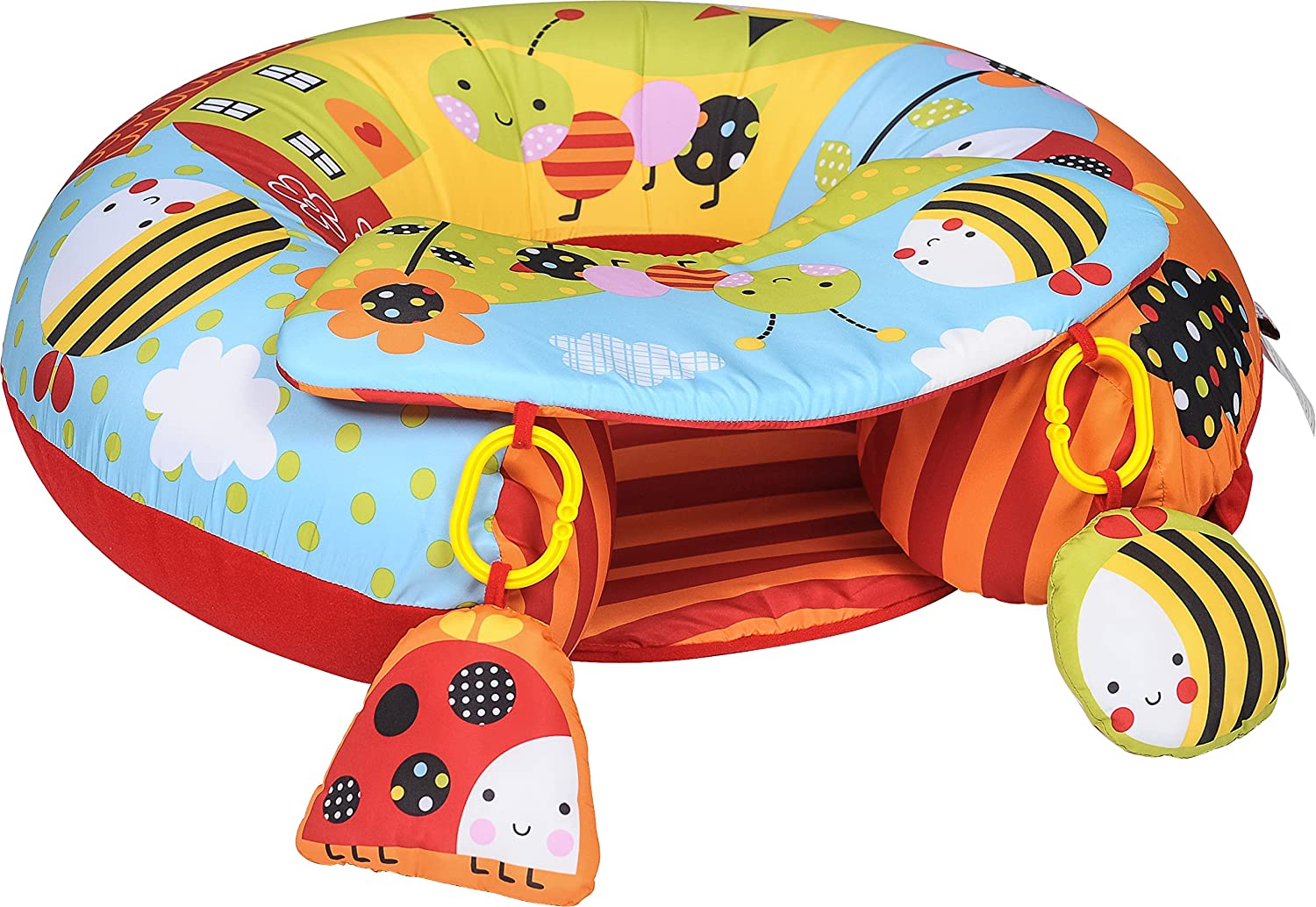 Sit Me Up Inflatable Activity Baby Play Ring In Garden Gang | eBay