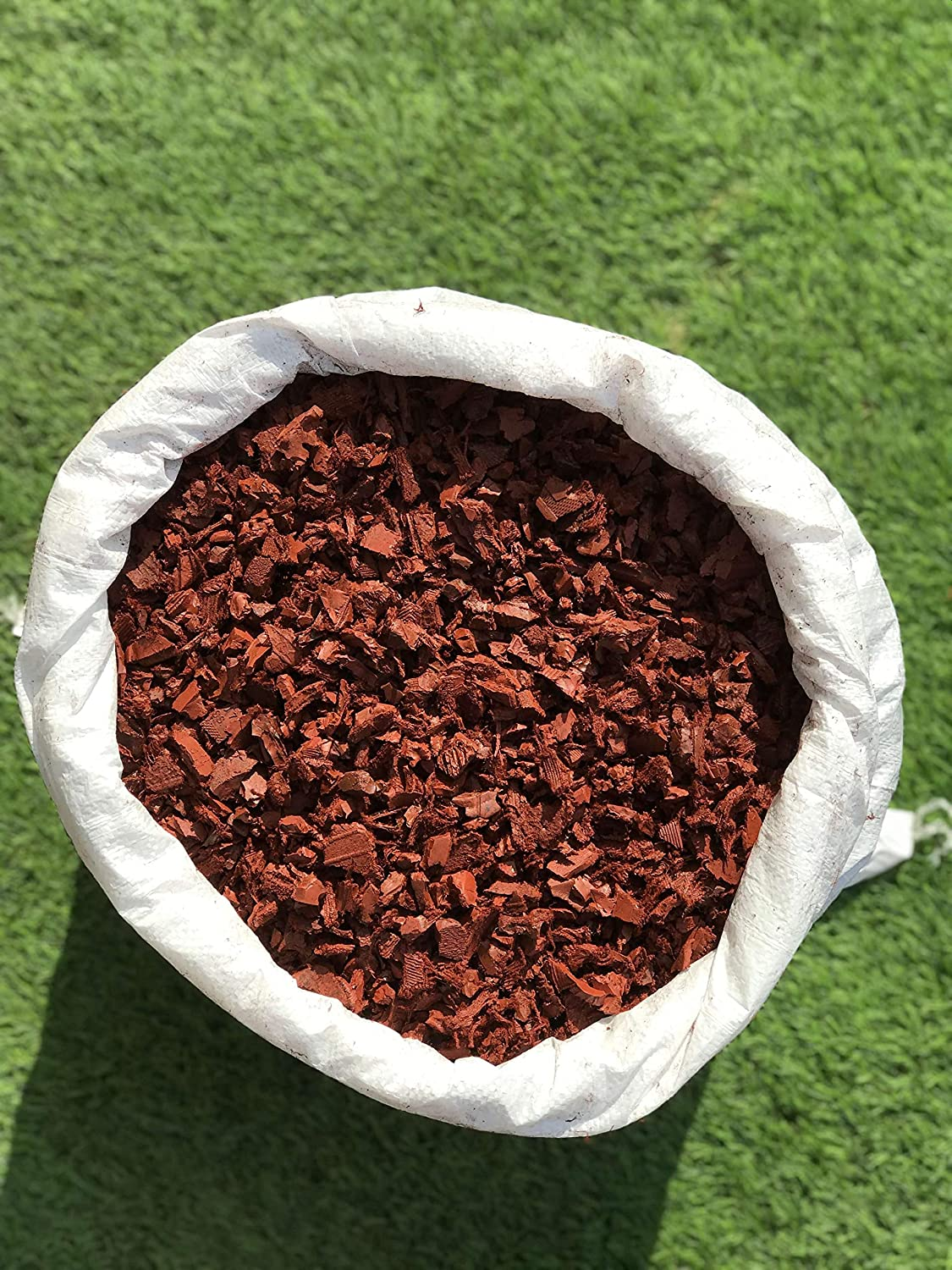 innovative design online shop authorized site ECO RED Decorative Rubber Garden Mulch/Play Bark chippings ...