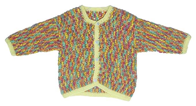 Sr Handicrafts Baby Boys Wool Sweater Sh017 0 6 Months Multi