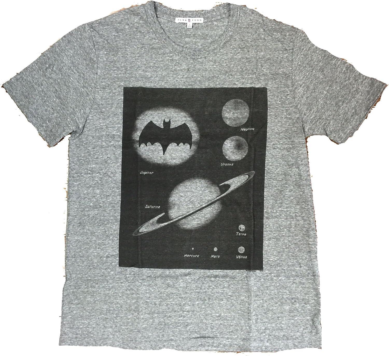 Junk Food Mens Batman Planets Tri Blend Tee Shirt