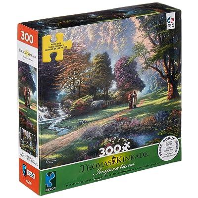 Ceaco 2202-32 Thomas Kinkade Walk of Faith Puzzle - 300Piece: Toys & Games