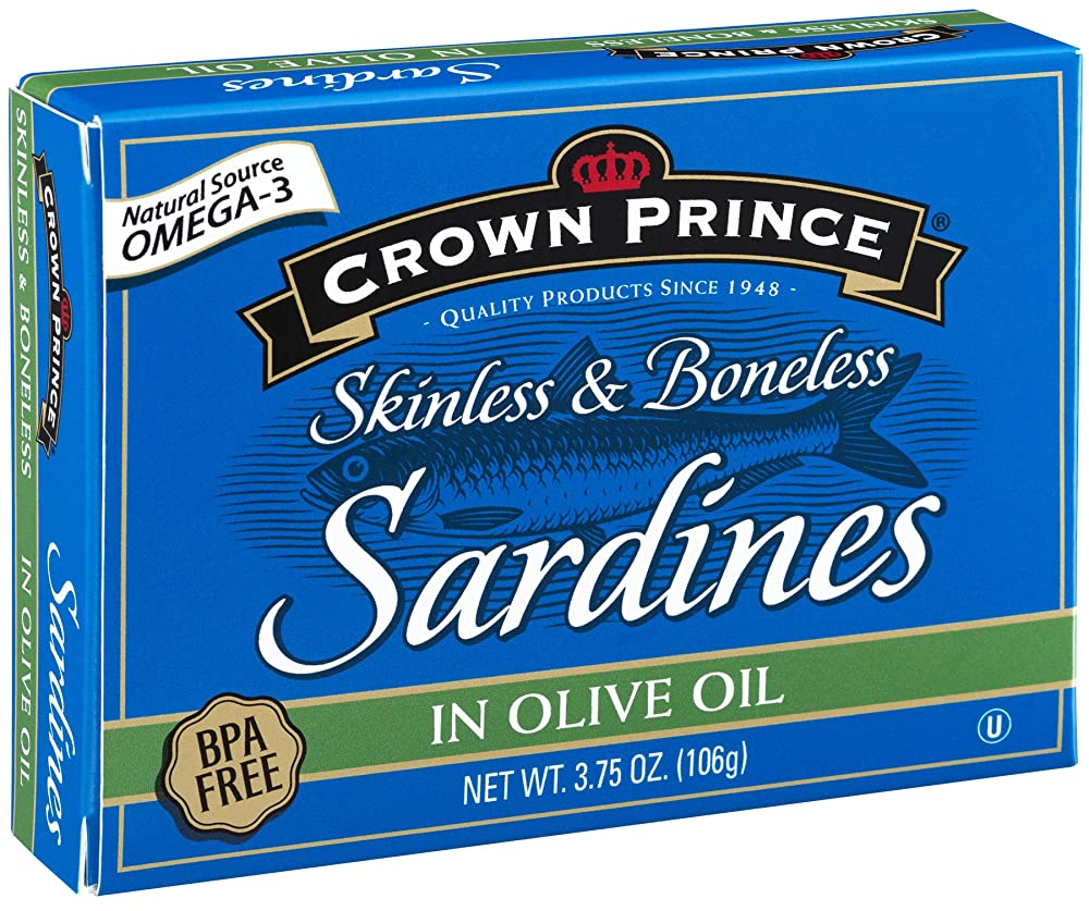 Crown Prince Skinless & Boneless Sardines in Olive Oil Review