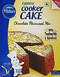 Pillsbury Eggless Cooker Cake Mix, Chocolate, 159g (Pack of 2)
