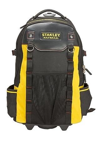ebd5c6bd90 Stanley 1-79-215 Sac à dos porte-outils à roulettes Noir: Amazon.fr ...