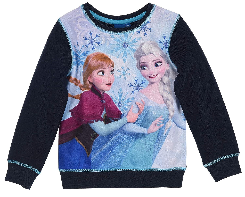 Disney Frozen Niñas Sudadera: Amazon.es: Ropa y accesorios