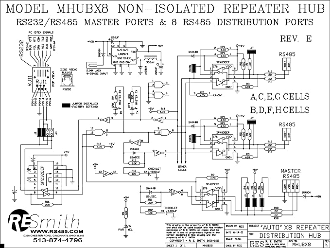 Rs232 Repeater Schematic - Enthusiast Wiring Diagrams •