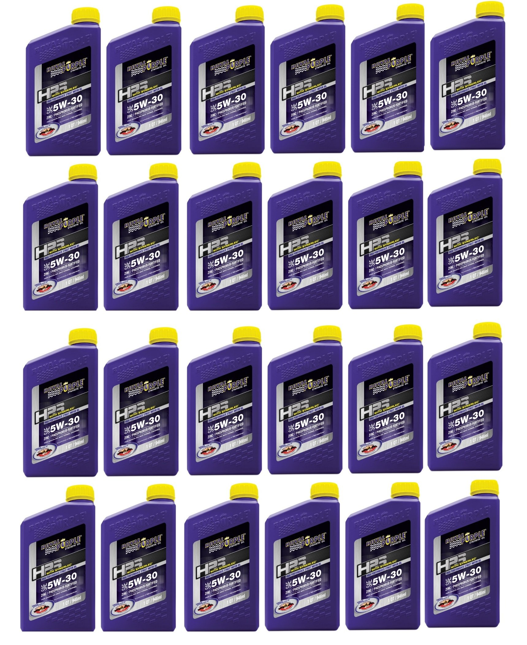 Royal Purple HPS Street Synthetic Motor Oil 5W30 Case of 24 Quarts