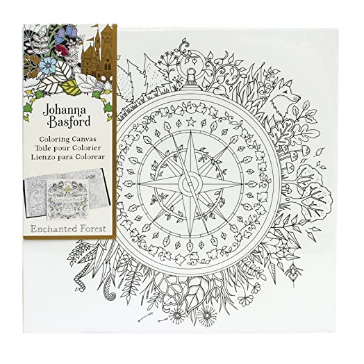 Johanna Basford Enchanted Forest Compass 12quot X