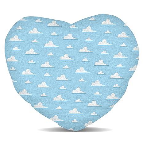Amazon.com: Pixar Nubes forro polar – Cojín con forma de ...