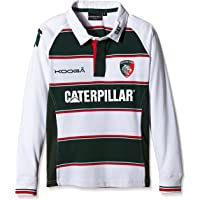 Leicester Tigers 2015/16 Home ladies Classic L/S camiseta