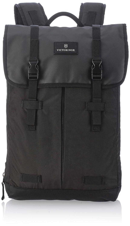 [ビクトリノックス] Victorinox バックパック 公式 Flapover Laptop Backpack 保証書付 B00B3SMAHO BK
