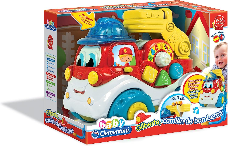 Baby Clementoni- Camión bomberos educativo (550739) , color/modelo surtido
