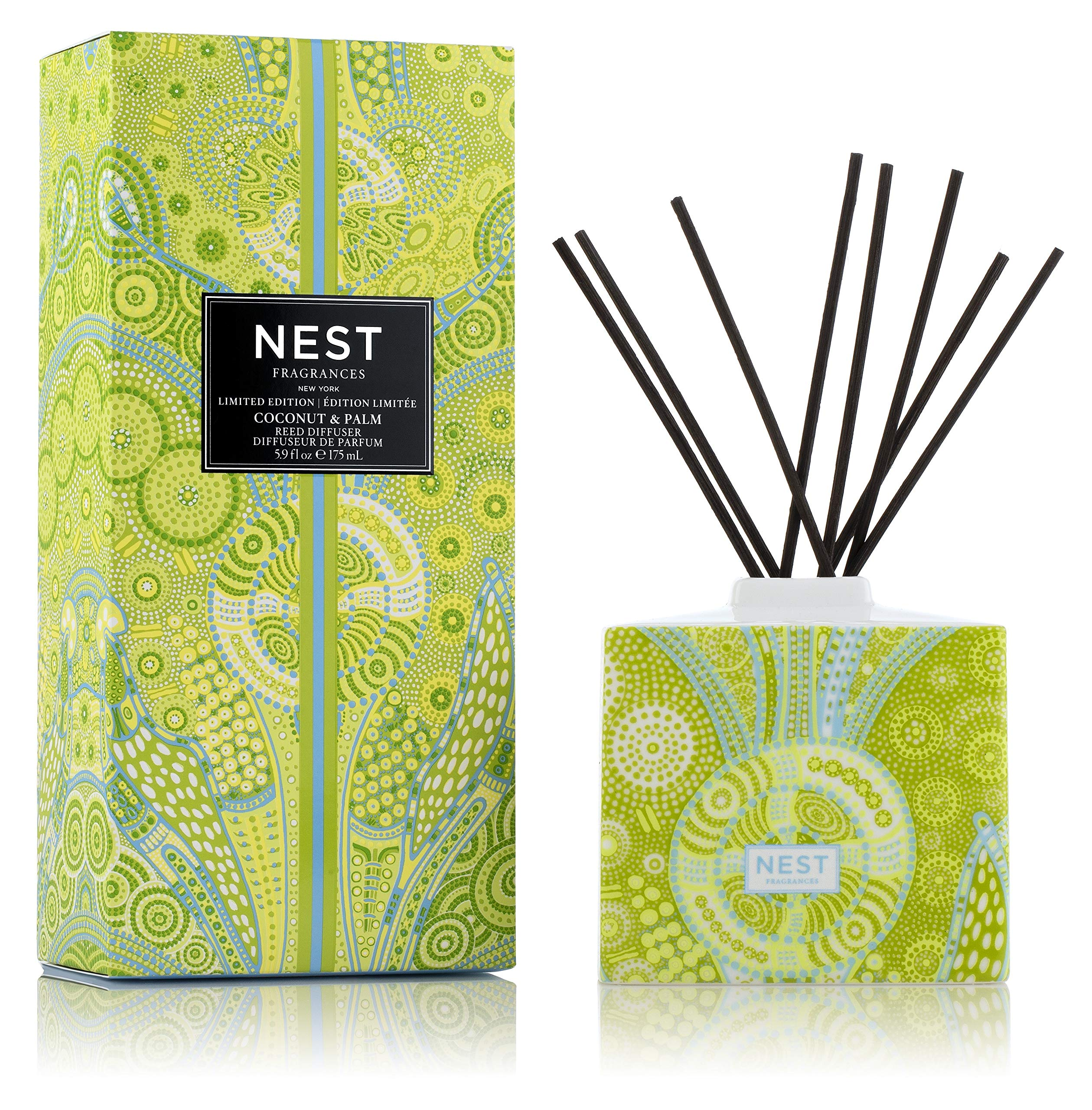 NEST Fragrances Coconut & Palm Limited Edition Summer 'Scape Reed Diffuser by NEST Fragrances (Image #1)