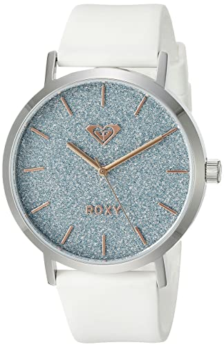 para Mujer Roxy The Royal Reloj Infantil de Cuarzo con Esfera analógica y Negro Correa de Silicona RX/1008blsv: Amazon.es: Relojes