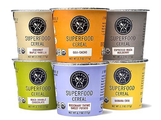 Vigilant Eats Superfood Cereal: Amazon.com: Grocery ...