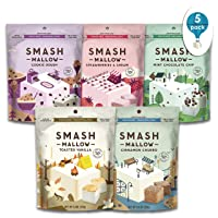 S'more Better Variety Pack by SMASHMALLOW | Snackable Marshmallows | Non-GMO | Organic...