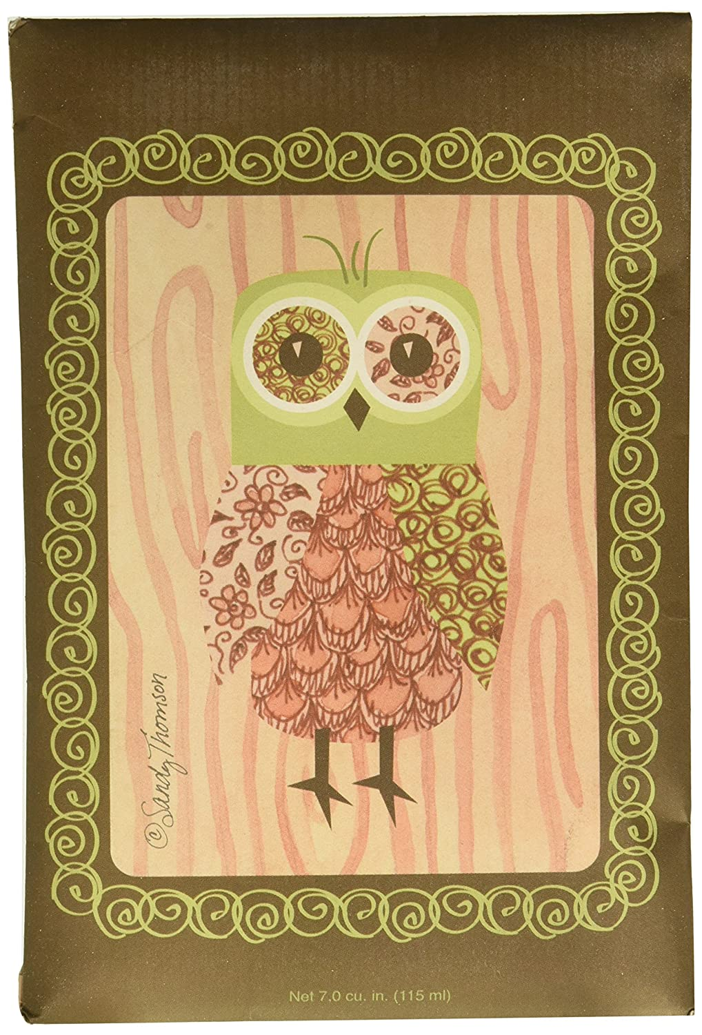 Willowbrook Fresh Scents Scented Sachet - Pink Owl Pack of 6