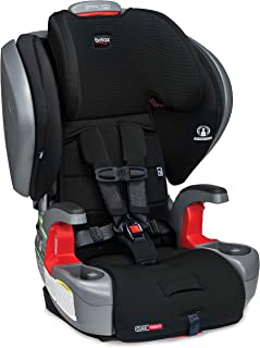 product image for Britax Grow with You ClickTight Plus Harness-2-Booster Car Seat | 3 Layer Impact Protection - 25 to 120 Pounds, Jet Safewash Fabric [New Version of Pinnacle]