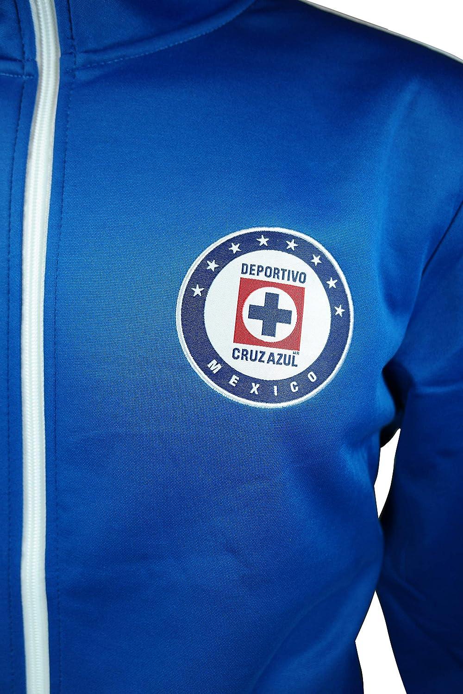 01 Icon Sports Men Cruz Azul Officially Licensed Soccer T-Shirt Cotton Tee