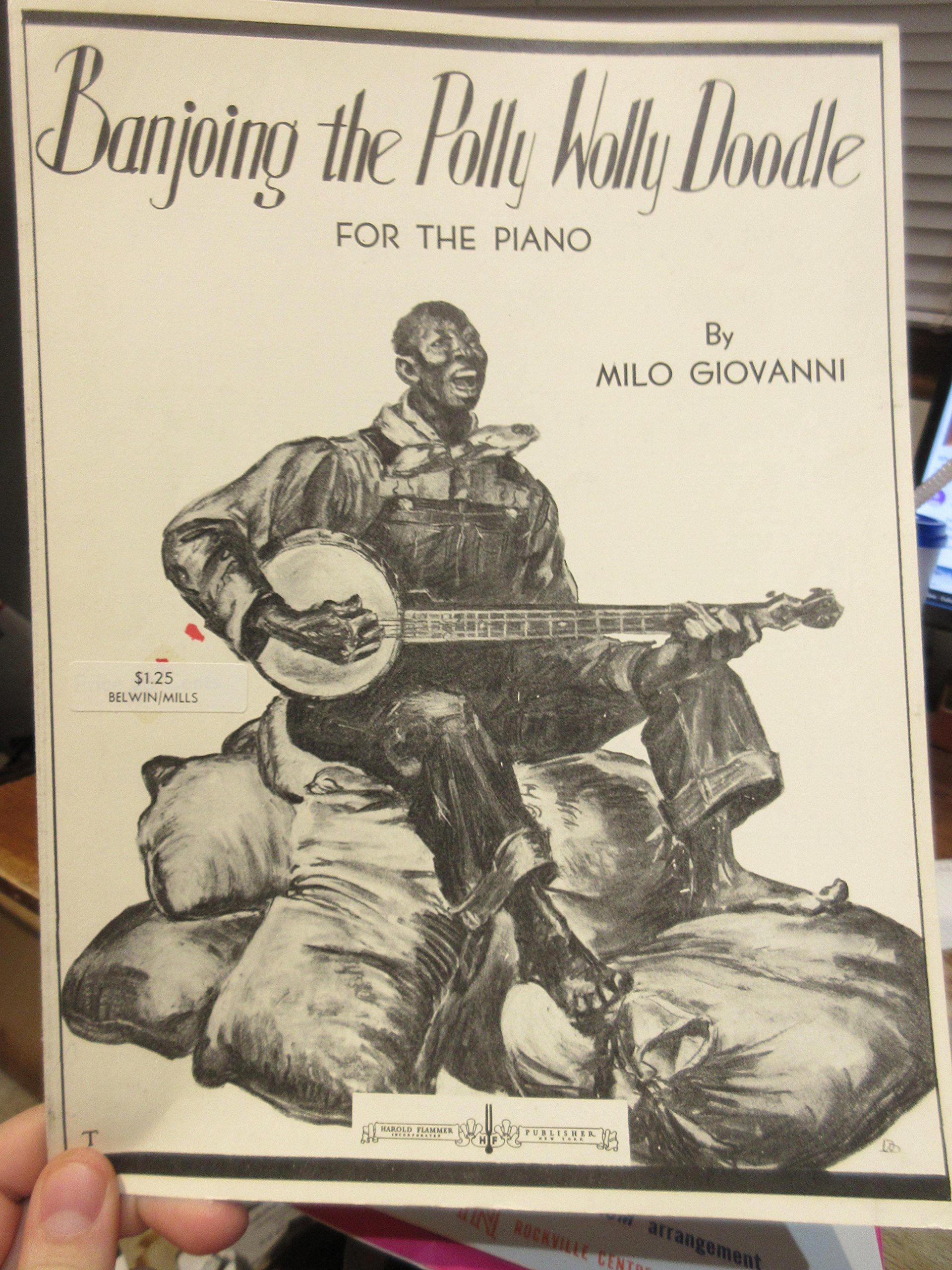 Banjoing the Polly Wolly Doodle for the piano [solo]