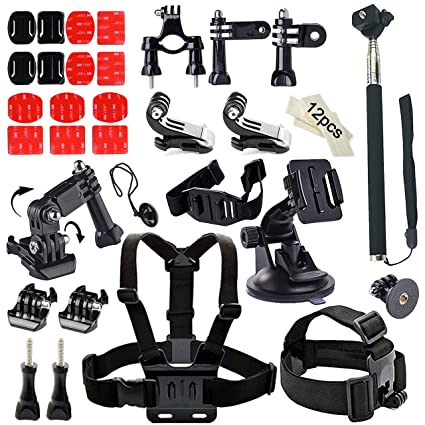 Amazon com : Soft Digits Accessories Bundle Kit for GoPro