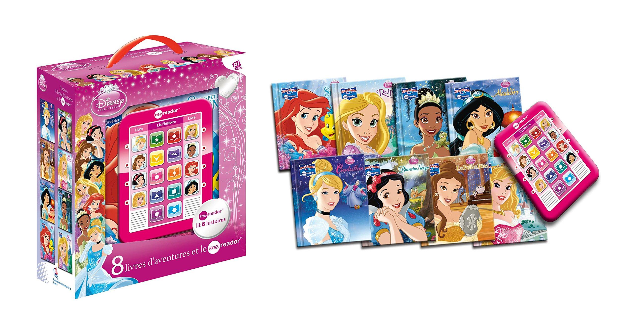 Princesses Ma Tablette De Lecture Avec Huit Livres Me