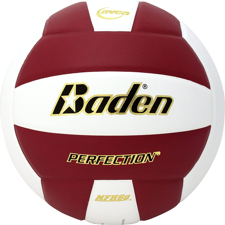 Baden Perfection - Pelota de Voleibol de Piel, Color Marrón y ...